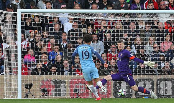 Southampton v Manchester City goals