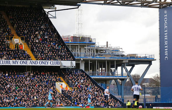 Tottenham new stadium pictures