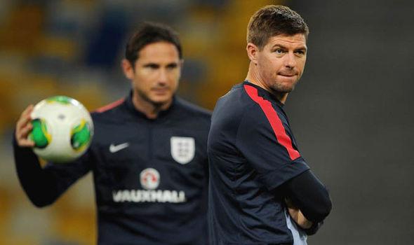 Steven Gerrard Frank Lampard