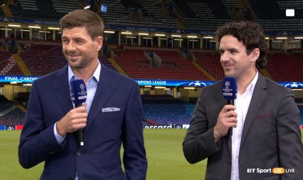 Steven Gerrard injury