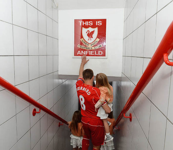 Steven Gerrard will also be returning to Anfield