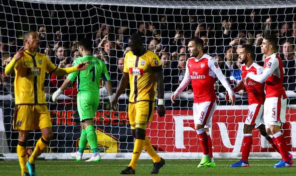Sutton United Arsenal