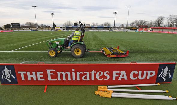 Sutton's artificial pitch