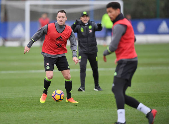 Terry at Chelsea