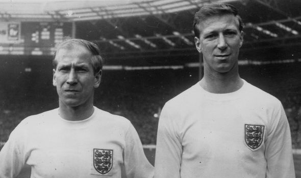 The pair lifted the World Cup with England in 1966
