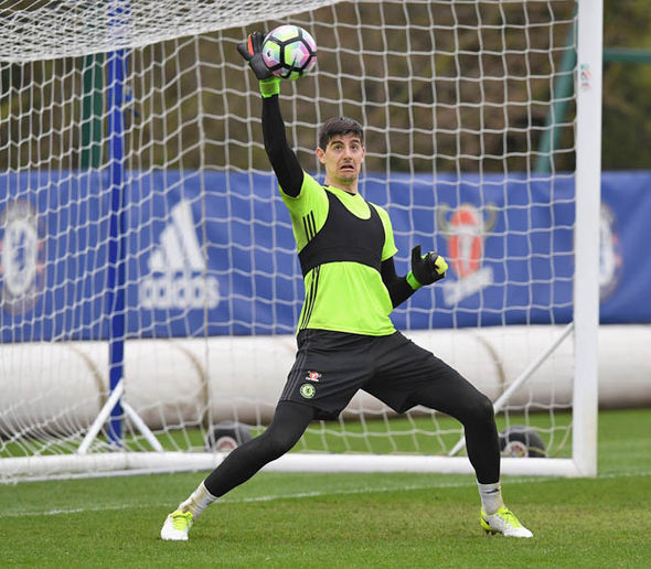 Thibaut Courtois at Chelsea