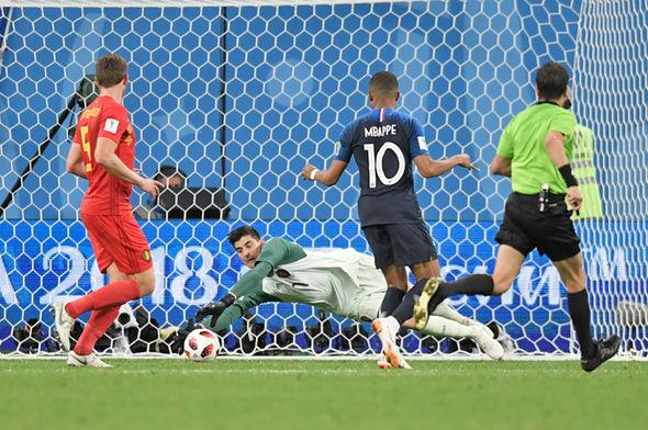 Thibaut Courtois World Cup