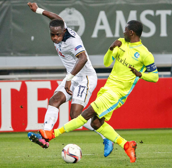 Moussa Sissoko at Tottenham