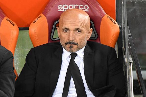 Luciano Spalletti at Roma