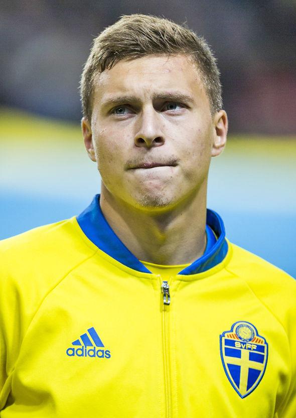 Image result for victor lindelof sweden