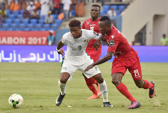 Zaha at the Africa Cup of Nations