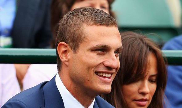 Image result for pic of Nemanja Vidic visiting old trafford