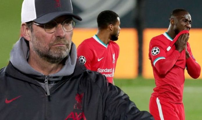Jurgen Klopp hits out at Liverpool stars over Real Madrid loss despite Mo Salah 'lifeline'