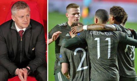 Man Utd boss Solskjaer praises two players after Granada win despite 'not perfect night'