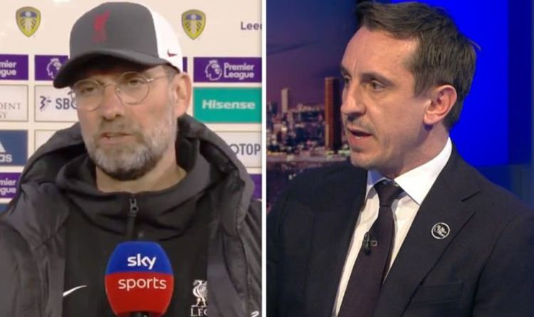 Jurgen Klopp and Gary Neville tempers boil over in heated row over European Super League