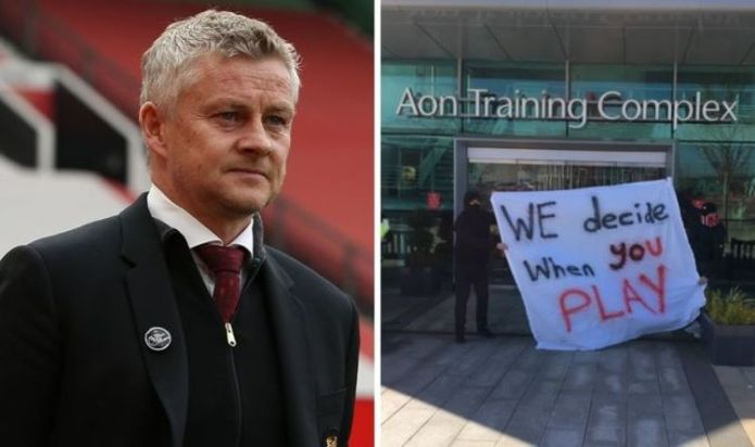 Man Utd in chaos with Ole Gunnar Solskjaer 'disturbed' by Carrington training hijack