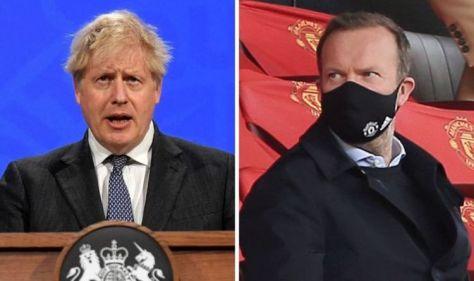 Man Utd chief Ed Woodward held secret talks with Boris Johnson days before ESL launch