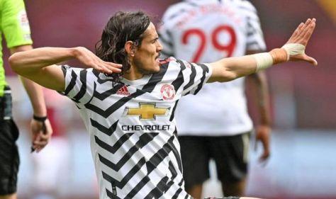 Manchester United star Edinson Cavani 'has signed contract extension'