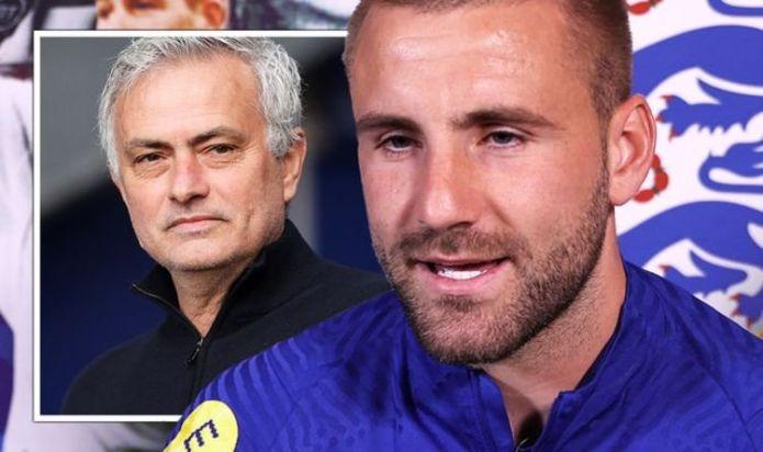 England's Luke Shaw hits back at Jose Mourinho criticism ahead of Germany clash