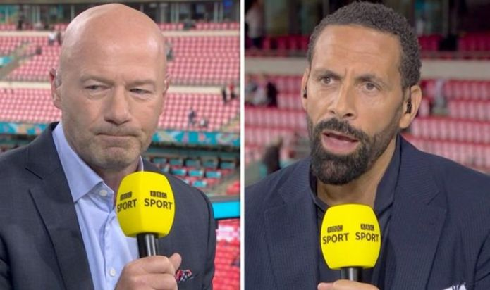 Alan Shearer and Rio Ferdinand both surprised at Southgate decision for England vs Germany