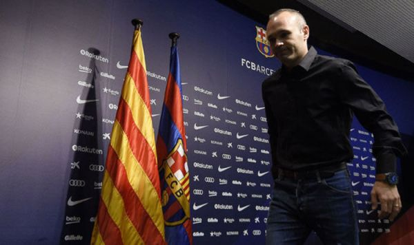 Andres Iniesta announcement LIVE: Barcelona star poised to ...