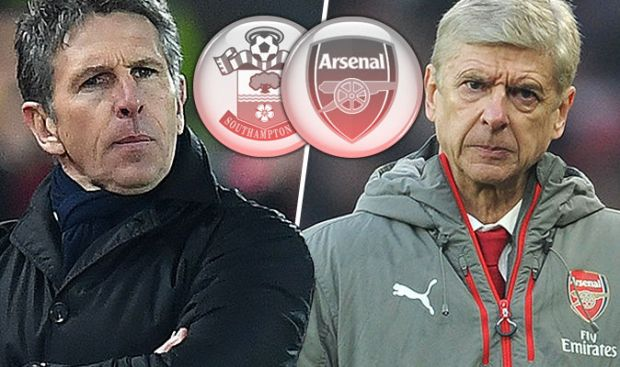 Southampton v Arsenal live blog
