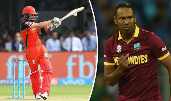 IPL stars Virat Kohli and Samuel Badree