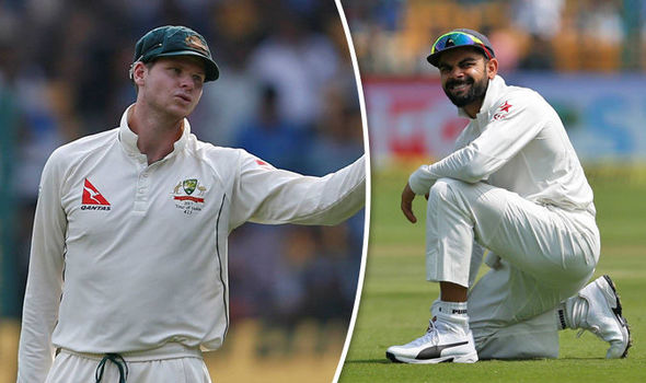 India star Virat Kohli and Australia captain Steve Smith