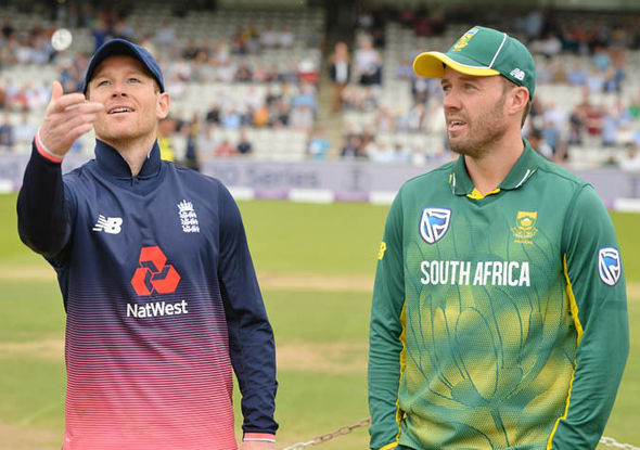 England beat South Africa 2-1 in their Champions Trophy warm-up series