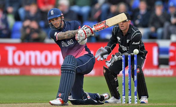 England cricketer Alex Hales