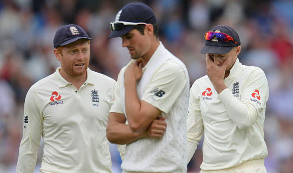 England fell apart of day two of the Second Test