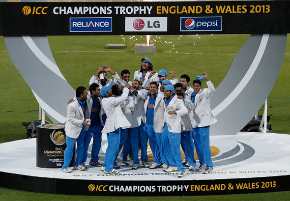 ICC Champions Trophy 2013 champions India