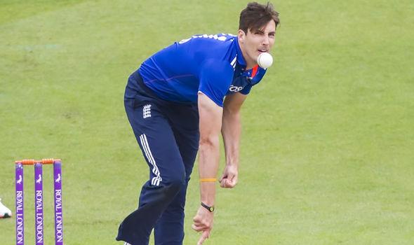 Steven Finn England cricketer
