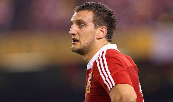 Sam Warburton Wales and British & Irish Lions captain