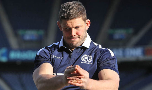 Scotland hooker Ross Ford