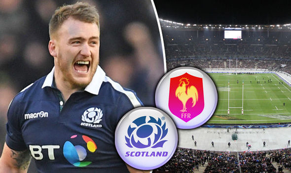 Stuart Hogg on France v Scotland