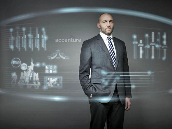 Ben Kay is part of the Accenture Analysis Team during the RBS 6 Nations