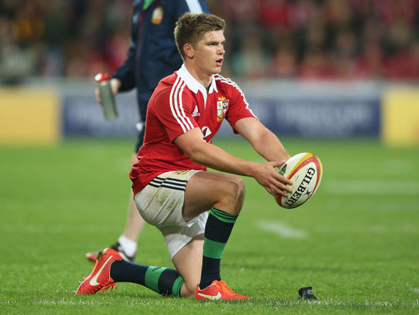 British & Irish Lion Owen Farrell