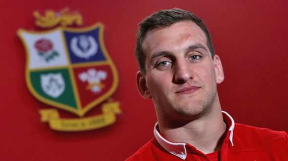 British & Irish Lions 2017 captain Sam Warburton