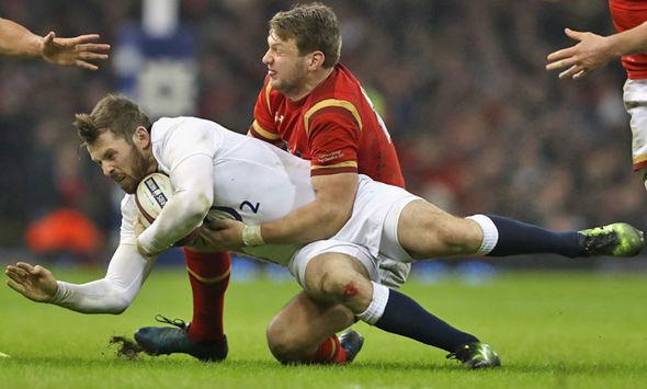 British & Irish Lions hopefuls Dan Biggar and Elliot Daly