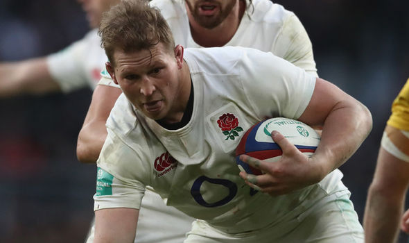 Dylan Hartley England rugby captain