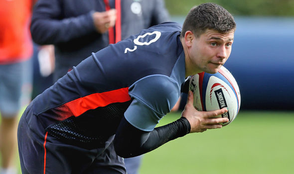 England rugby player Ben Youngs