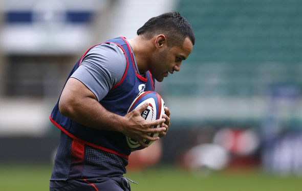 England rugby star Billy Vunipola