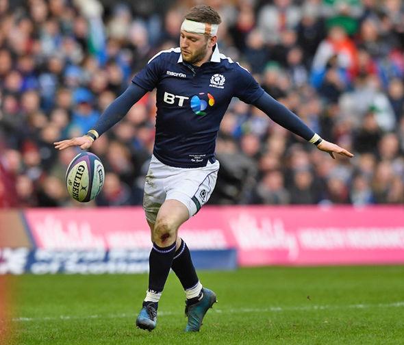 Scotland star Finn Russell