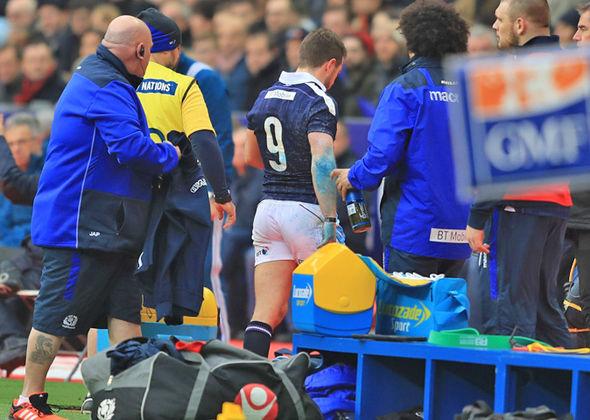 Greig Laidlaw injury