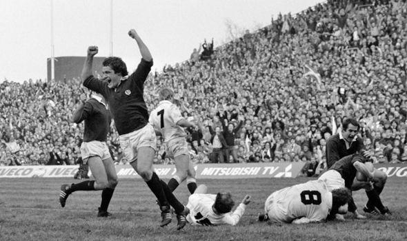 England v Scotland 1983