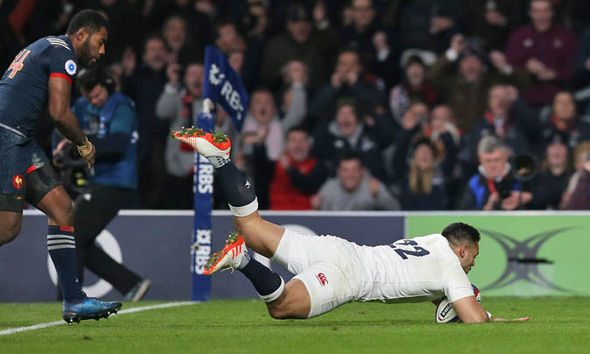Te'o scored the match-winning try against France