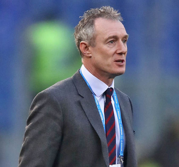 Wales head coach Rob Howley