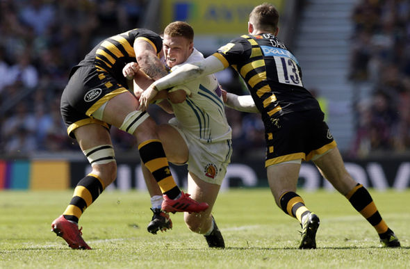 Wasps defend against Exeter