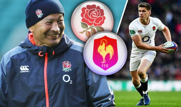 England v France rugby live blog